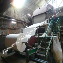 Complete 787mm small toilet tissue paper mill machinery production line