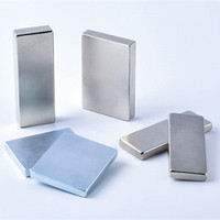 2013 Hot Sale Thin Strong Neodymium Magnet block With Hole In Center
