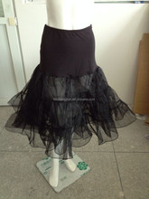 China supplier black wholesale Underskirt Bridal Wedding Petticoat