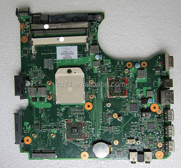 100% working good cheap price CQ515 538391-001 laptop motherboard Integrated DDR2