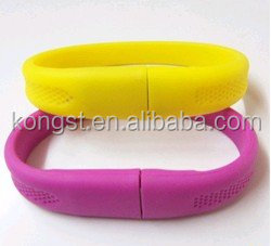 Top selling silicone 1tb usb slap bracelet free <strong>sample</strong> hot selling 2016
