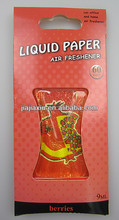 liquid air freshener/household air freshener /hang car membrane air freshener