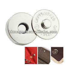 Colored Fashion Button Magnets for Purses Magnet Button Manufacture