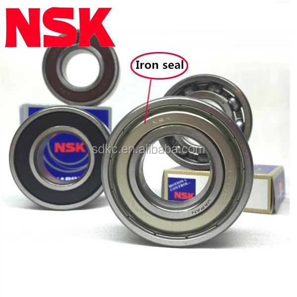 High quality good price Japen NSK deep groove ball bearing 6301 ZZ size 12*37*12mm