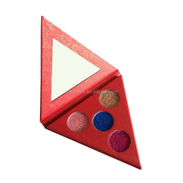 OEM best cosmetics cheap waterproof sparkly eyeshadow palette
