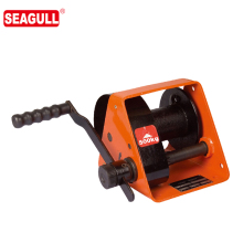 HWG small manual rope winch 2 ton hand winch