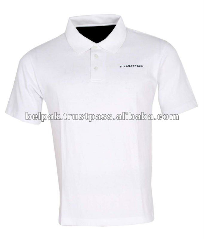 Polo Shirts 65% Polyester / 35% Cotton - 185 gsm