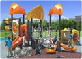 Kaiqi Group Sea Sailing Series KQ60023A popular attractions amusement park plastic commercial outdoor playground equipment