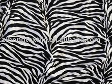 Zebra Printed Fabric For Swimwear