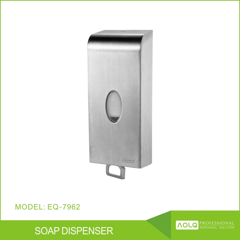 2016 1000ml Hand drip dispenser for toilets,hand wash liquid or foam soap dispenser,wall soap dispencer hotels