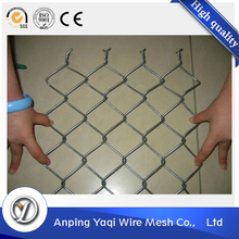 durable 5 feet pvc coated chain link fence