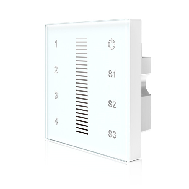 4 Zones Touch panel 0/1-10V Dimmer T18-1