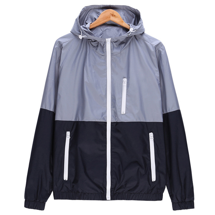Winter Windproof Class Winter Jacket Waterproof / Sports training men jacket windbreaker for jogging