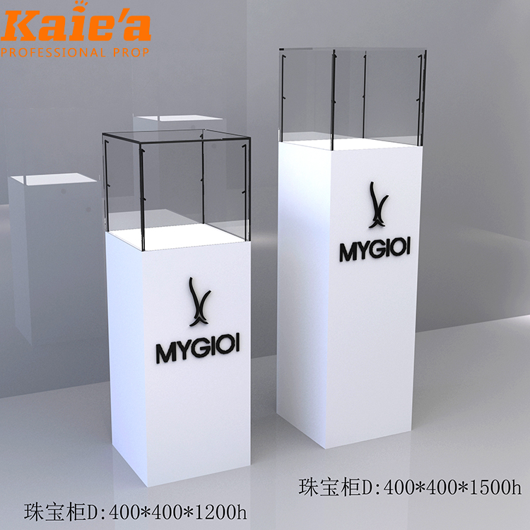Hot sale elegant jewelry display counter/mall kiosk design