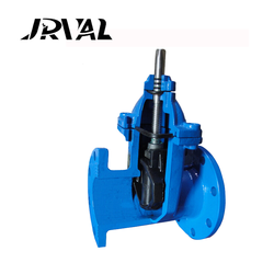 JR OS&Y BS5163 extension spindle wcb gate valve for hdpe pipe