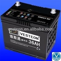 12V50ah japan car battery