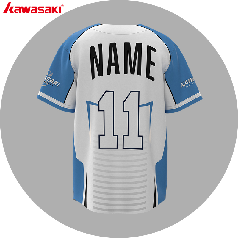wholesale stylish white 3d men polyester dri fit sublimated custom baseball jersey blank