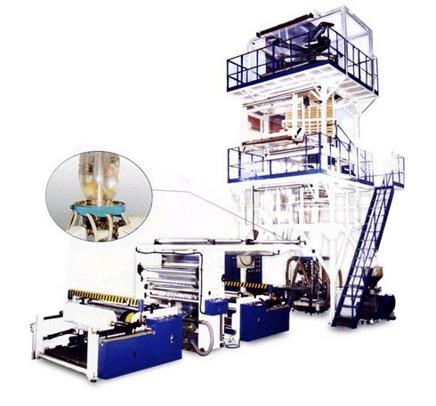 5-Layer Co-Extrusion Blown Film Machine
