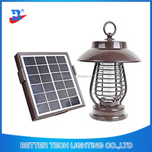 Portable Solar Power LED Lamp Light Mosquito Killer Bug Zapper fly Pest Insect