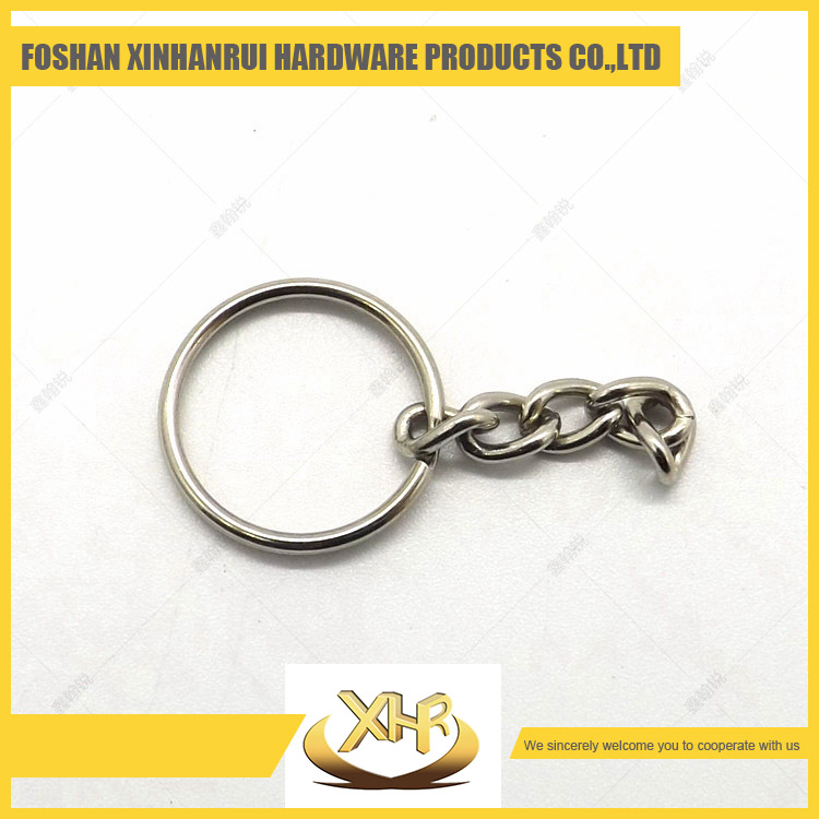 China cheap 1.7 OD 25mm simple key ring bag parts round ring