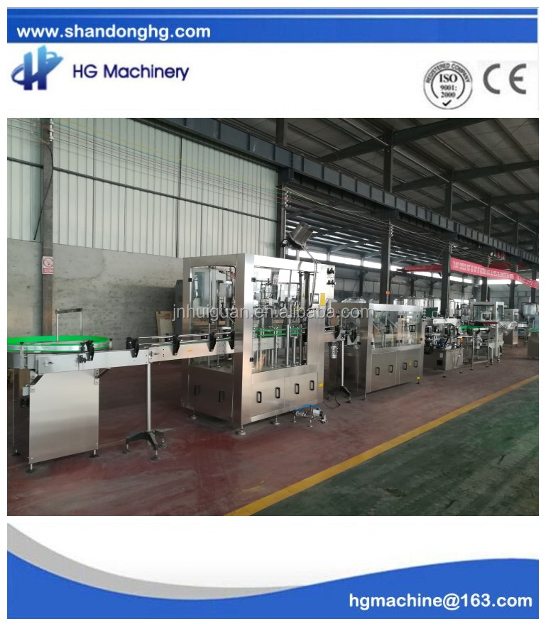 Automatic beer filling machine 3 in <strong>1</strong> with the best quality and the most competitive price