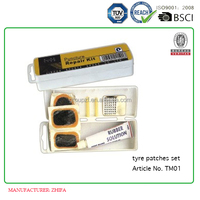 bike tire repair cold patch set TUV certification Article No. TM01
