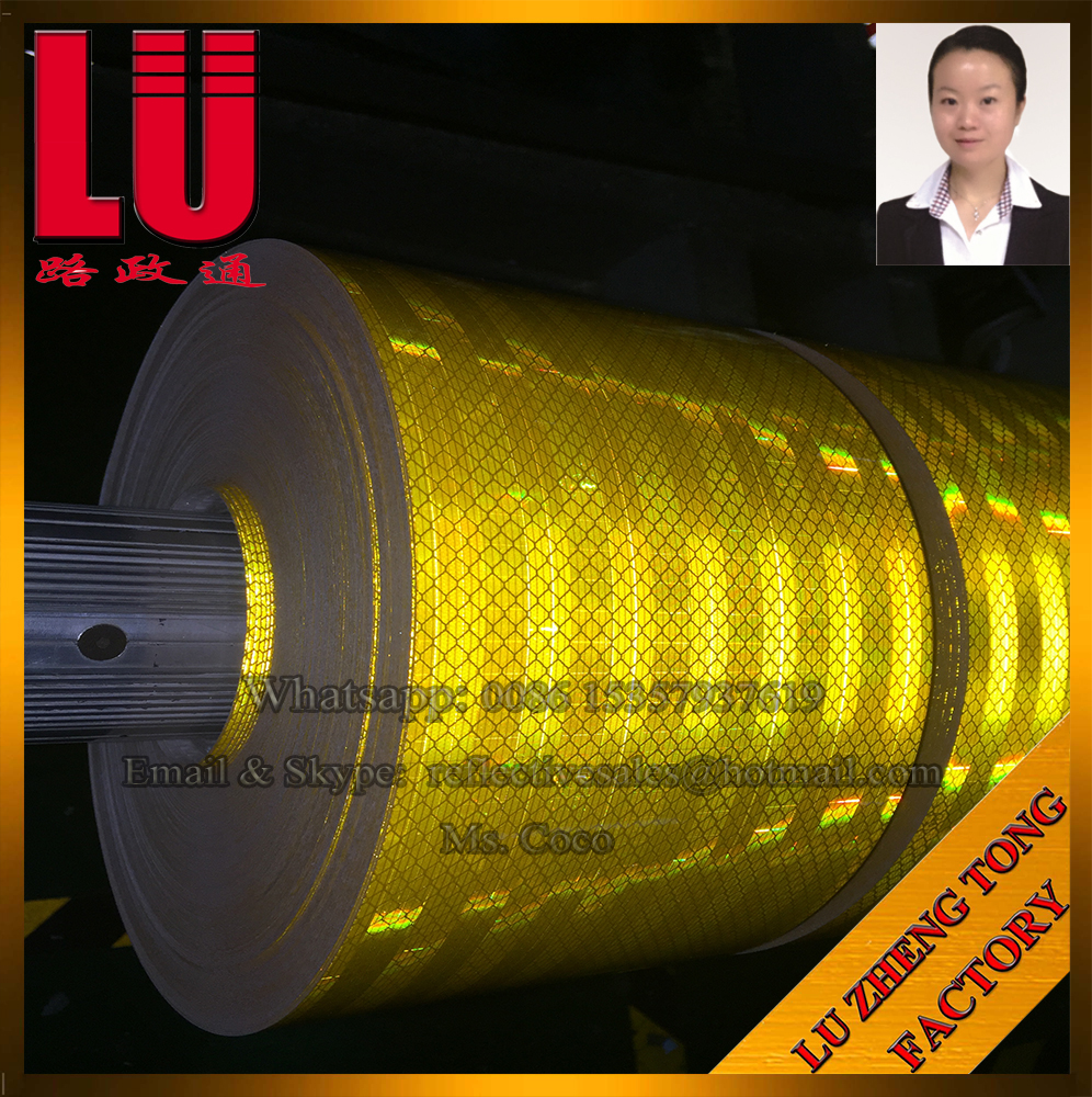 LU Micro Prismatic Prism Paper Reflective Sheeting