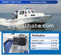 Ambulance Boat 29ftr