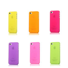 for iphone4/4s candy color hard case, mobile phone accessory