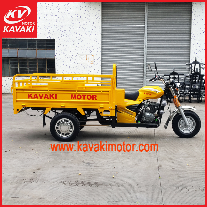Suppers engine Chinese high quality truck cargo car tricycle for India