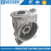 High temperature resistance stainless steel pump casting machine