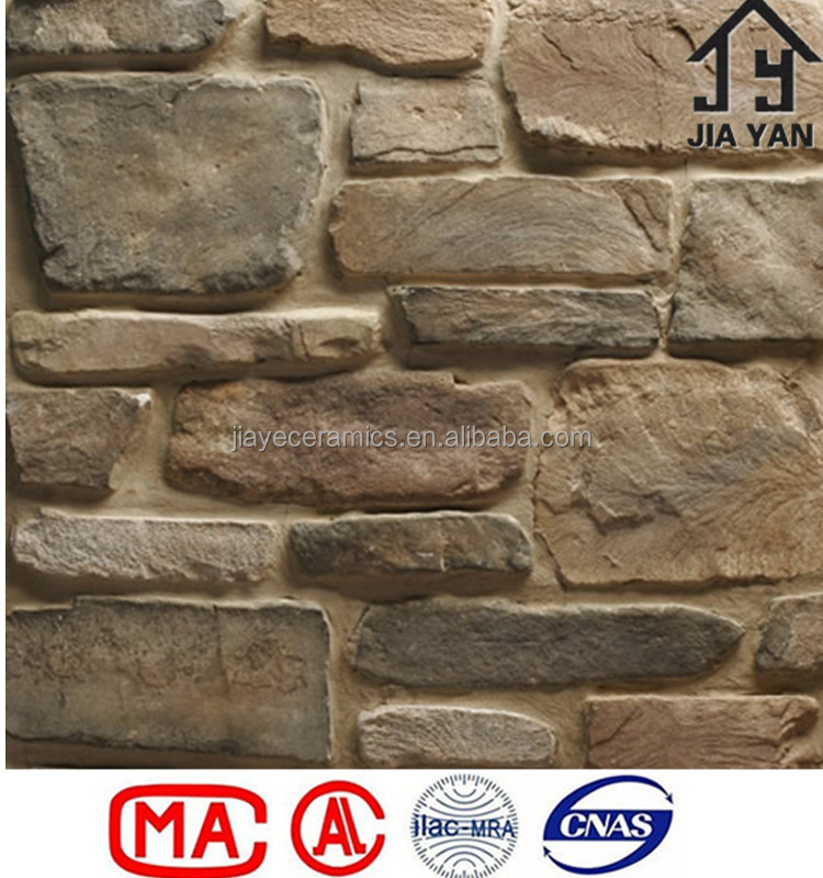 Cheap imitation stone decorative plastic brick wall