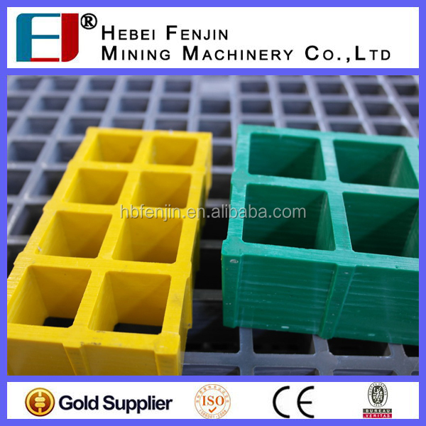 China Manufacturer Fiberglass Grates For Superior Load Bearing