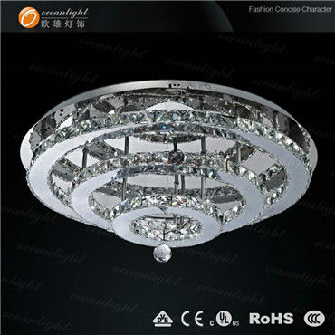 Square glass rod light fittings fancy in china OM7714