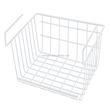 Hot sale metal wire hanging metal storage basket for kitchen