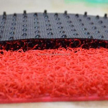 Noodle Coil Spaghetti Pvc Entrance Mats customize roll size