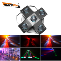 Night club 25pcs RGBWA 3W Single color disco LED effect light DMX LED Moonflower dance light for home party stage
