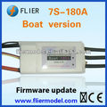 speed controller brushless motor 7S and 180A ESC for RC boat