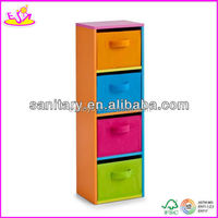 2016 wholesale cheap baby wooden storage cabinet W08C041-A13