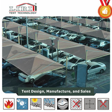 Galvanized Steel Protective Car Shelter / Metal Car Canopy / Carport Tent for Sale