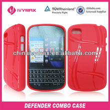 candy color case for blackberry Q10 durable TPU case