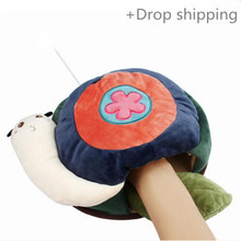Malloom Cute Animails Style USB Hand Warmer Heated Thermal Mouse Pad With Wrist for drop shipping and warehousing