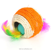Sisal Cat Rope Teaser Ball Cat Scratch Toys Pet Sex Toys For Cat
