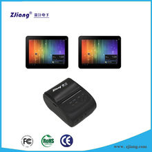 Small size 58mm portable android tablet bluetooth printer