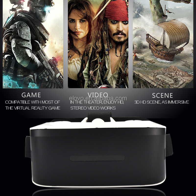 Hotselling Octa core all in one vr android glasses with 360 degree panorama view