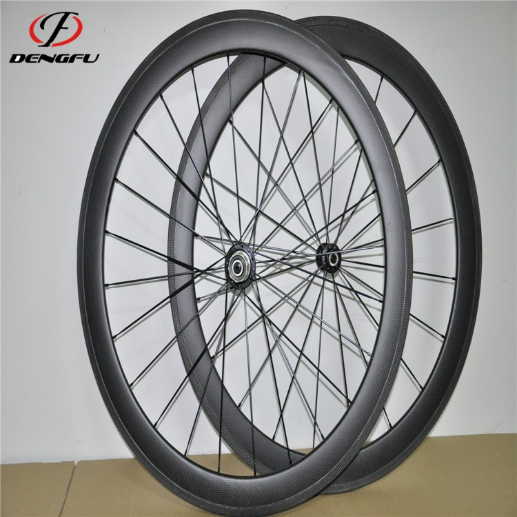 powerway <strong>R13</strong> hubs 60mm tubular wheelset 700c carbon fiber aero wheels with CN494 spokes