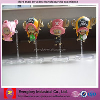 Exported custom plastic toy ,cute design pvc plastic toy , lovely doll for promotion toy