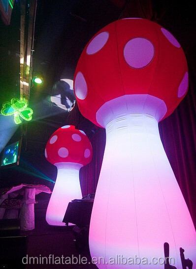 Giant Decoration Inflatable Mushrooms For Events Decoration