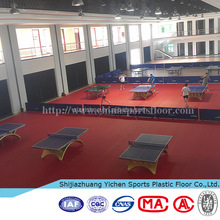 Table tennis floor mat rubber covers