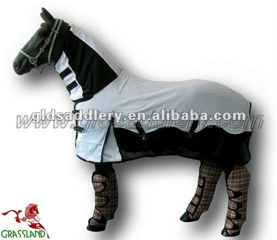 Summer Washable Mesh horse combo Fly rugs/sheets and blankets